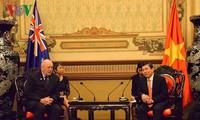 Le gouverneur général d'Australie à Hô Chi Minh-ville
