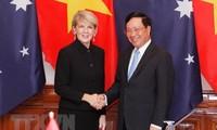 Première réunion des ministres des Affaires étrangères Vietnam-Australie