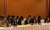 Nguyên Quốc Dung à la conférence des hauts officiels de l'ASEAN à Singapour