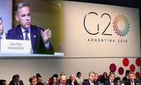 G20 : la hausse des tensions commerciales est un risque pour la croissance mondiale