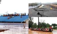 Laos: un barrage s'effondre, des centaines de disparus