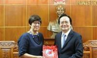 Éducation: Le Vietnam renforce sa coopération avec la Belgique