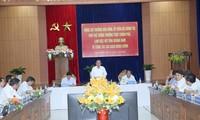 Le vice-Premier ministre Truong Hoa Binh en visite à Quang Nam
