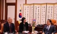 L'Ambassadeur du Vietnam reçu par le président de l'Assemblée nationale sud-coréenne