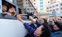 Les familles séparées intercoréennes se rencontrent ce lundi
