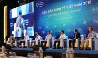 Vuong Dinh Huê assiste au Forum sur les marchés financiers
