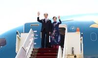 Le président Trân Dai Quang entame sa visite en Egypte