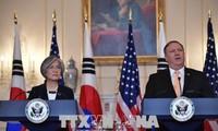 Kang et Pompeo promettent des efforts pour maintenir l'élan du dialogue avec le Nord