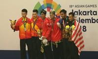ASIAD 2018: le Vietnam décroche 2 médailles d'argent pour le pencak silat
