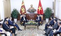 Entrevue Pham Binh Minh - Ranil Wickremesinghe