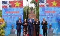 Inauguration d'un mémorial de Juan Bosch à Hanoï