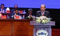 Truong Hoà Binh au 6e congrès de l'Association des jeunes entrepreneurs du Vietnam