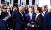 Trân Dai Quang rencontre des dirigeants égyptiens