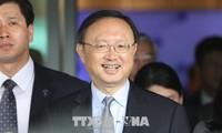 Consultations entre de hauts responsables chinois et sud-coréens