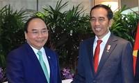 Le président indonésien entame sa visite au Vietnam