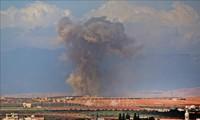 Syrie: Washington et ses alliés prônent une «réponse plus forte» en cas d'attaque chimique