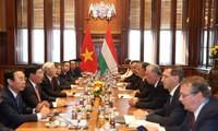 Déclaration commune Vietnam-Hongrie sur l'établissement du Partenariat intégral