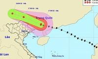 Les localités du Nord se préparent à l'arrivée du typhoon Mangkhut