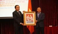 Activités de Trân Thanh Mân et de Uông Chu Luu en Russie