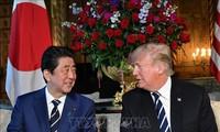 Donald Trump rencontre Shinzo Abe avant l'Assemblée générale de l'ONU