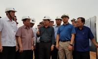 Crues : déplacement de Trinh Dinh Dung à Dông Thap