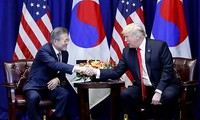 Sommet de New York entre Moon Jae-in et Donald Trump
