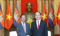Hun Sen se rendra au Vietnam pour rendre hommage au président Trân Dai Quang