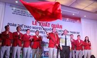 ASIAN Para Games 18: la délégation vietnamienne est arrivée en Indonésie