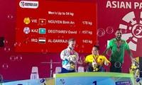 ASIAN ParaGames 2018: 2e médaille d'or pour le Vietnam