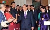 Nguyên Xuân Phuc rencontre des Vietnamiens d'Autriche et d'Europe
