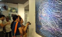 Vernissage d'une exposition franco-vietnamienne à Hô Chi Minh-ville