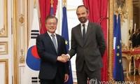 Moon Jae-in et Edouard Philippe veulent accroître les échanges bilatéraux