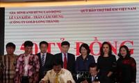 80 milliards de dongs pour le Fonds de protection des enfants vietnamiens