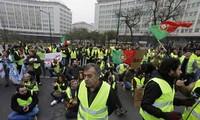"Portugal: manifestation ""Gilets jaunes"" à Lisbonne"