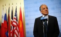 """Afghanistan: """"progrès importants"""" dans les pourparlers de paix entre États-Unis et talibans"""