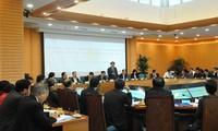 Vuong Dinh Huê se renseigne sur les investissements étrangers à Hanoï