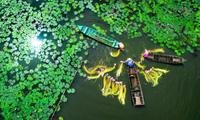 La province d'An Giang accueille 200.000 touristes étrangers en janvier
