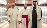 Visite historique du pape François aux Émirats arabes unis