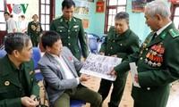 Rencontre avec des soldats ayant participé à la défense de la frontière du Nord
