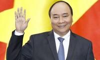 """Nguyên Xuân Phuc participe au forum """"Une ceinture, une route"""" en Chine"""