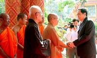 Fête du Vesak de l'ONU 2019: le président du FPV présente ses vœux aux bouddhistes