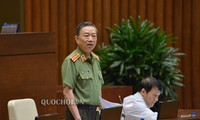 Assemblée nationale: Le ministre Tô Lâm répond aux questions sur la criminalité liée à la drogue