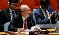 Le Japon attend les contributions du Vietnam au Conseil de sécurité de l'ONU