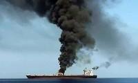 Deux pétroliers ont été la cible d'une attaque présumée en mer d'Oman
