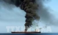 """Attaques de deux pétroliers en mer d'Oman: l'Iran accuse Washington de """"sabotage diplomatique"""""""