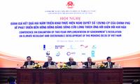 Conférence sur l'adaptation au changement climatique dans le delta du Mékong