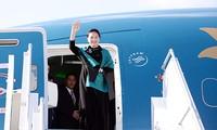 La présidente de l'Assemblée nationale vietnamienne visite Chine