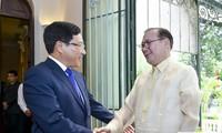 Vietnam-Philippines: Entretien entre les chefs de la diplomatie