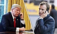 Nucléaire iranien: Donald Trump s'est entretenu avec Emmanuel Macron