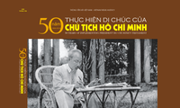 Livre de photos «Cinquante ans d'application du testament du Président Hô Chi Minh»